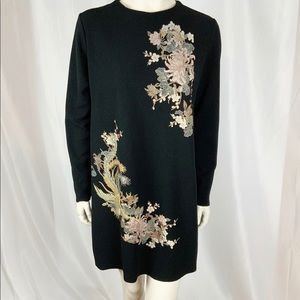 Zara Dress Size M Asian inspired Scoop neck